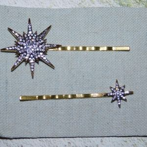 Anthropologie Star Bobby Pins